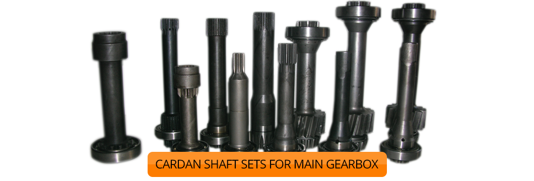 CARDAN SHAFT SETS FOR MAIN GEARBOX