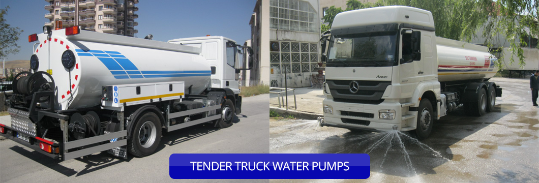 TENDER TRUCK WATER PUMPS